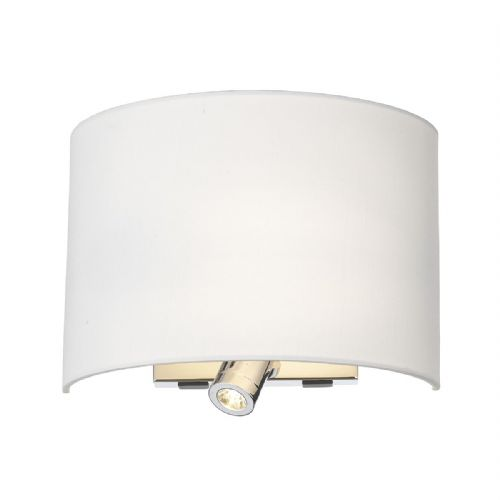 Wetzlar Wall Lamp Polished Chrome (Class 2 Double Insulated) BXWET0950-17